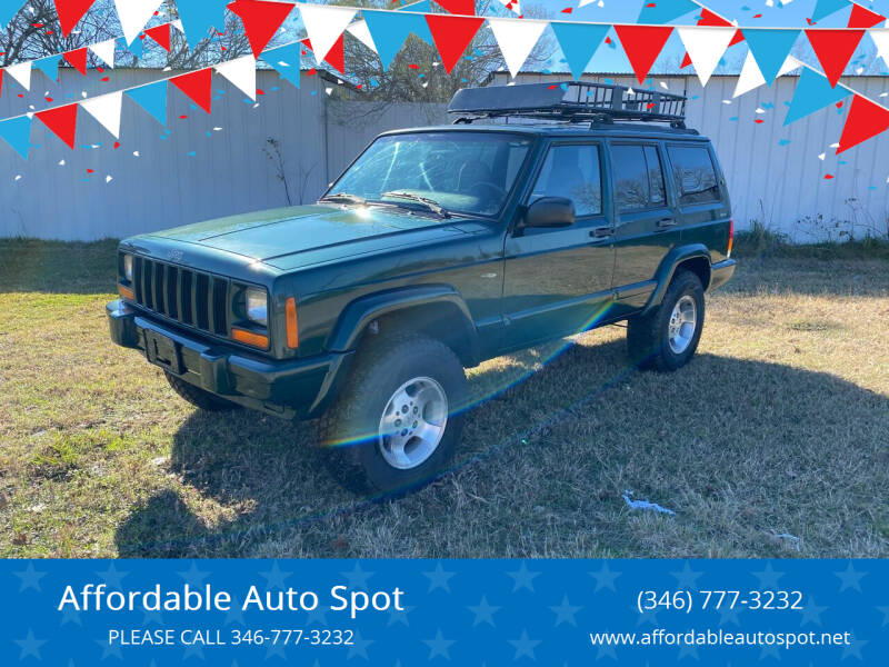 2000 Jeep Cherokee for sale at Affordable Auto Spot in Houston TX