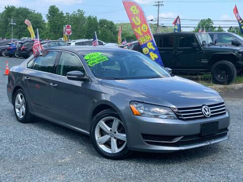 2013 Volkswagen Passat for sale at A&M Auto Sales in Edgewood MD