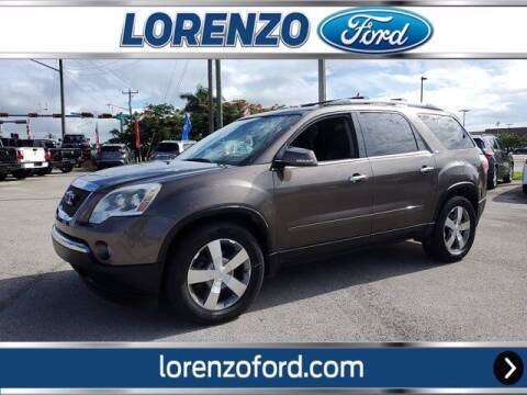 2012 GMC Acadia for sale at Lorenzo Ford in Homestead FL