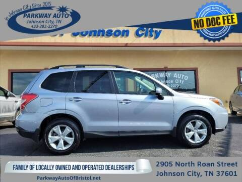 2016 Subaru Forester for sale at PARKWAY AUTO SALES OF BRISTOL - PARKWAY AUTO JOHNSON CITY in Johnson City TN