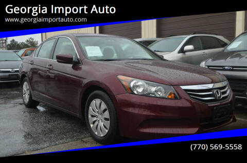 2011 Honda Accord for sale at Georgia Import Auto in Alpharetta GA