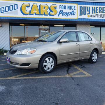 2006 Toyota Corolla for sale at Good Cars 4 Nice People in Omaha NE