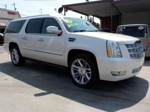 2013 Cadillac Escalade ESV for sale at Bell's Auto Sales in Corona CA