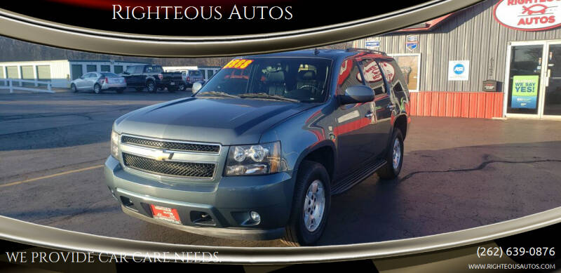2008 Chevrolet Tahoe for sale at Righteous Autos in Racine WI