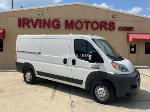 2016 RAM ProMaster Cargo for sale at Irving Motors Corp in San Antonio TX