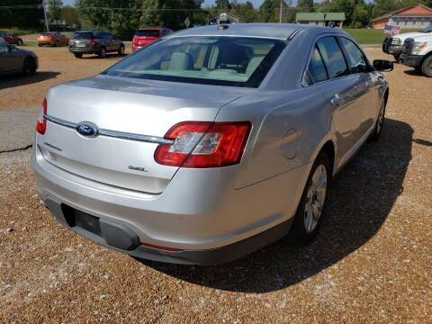 2011 Ford Taurus for sale at Scarletts Cars in Camden TN