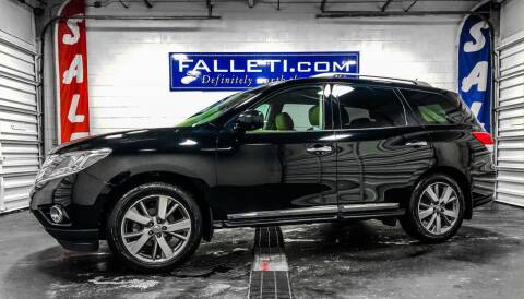 2014 Nissan Pathfinder for sale at Falleti Motors, Inc.  est. 1976 in Batavia NY