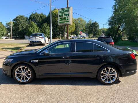 2015 Ford Taurus for sale at SS AUTO PRO'S in Otsego MI