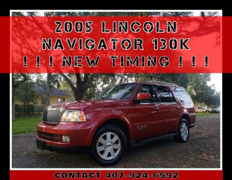 2005 Lincoln Navigator for sale at AFFORDABLE ONE LLC in Orlando FL