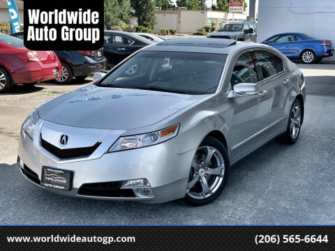 2010 Acura TL for sale at Worldwide Auto Group in Auburn WA