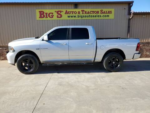 2009 Dodge Ram Pickup 1500 for sale at BIG 'S' AUTO & TRACTOR SALES in Blanchard OK