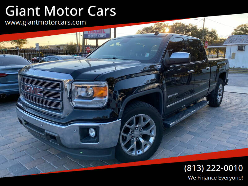 2014 GMC Sierra 1500 for sale at Giant Motor Cars in Tampa FL