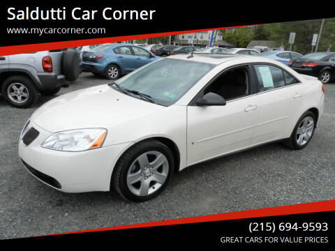 2008 Pontiac G6 for sale at Saldutti Car Corner in Gilbertsville PA