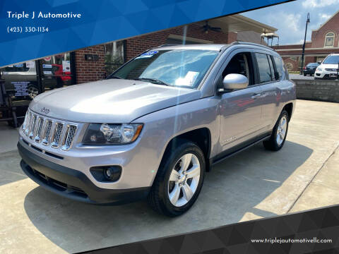 2016 Jeep Compass for sale at Triple J Automotive in Erwin TN