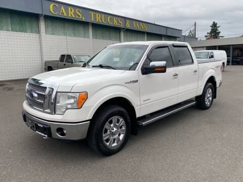 2012 Ford F-150 for sale at Vista Auto Sales in Lakewood WA
