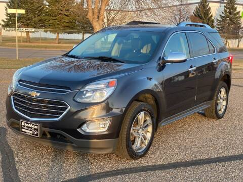 2016 Chevrolet Equinox for sale at BISMAN AUTOWORX INC in Bismarck ND