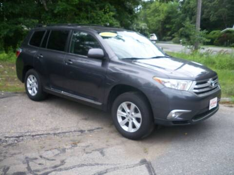 2012 Toyota Highlander for sale at Charlies Auto Village in Pelham NH