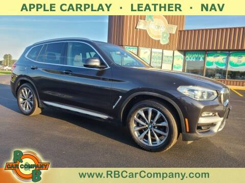 2019 BMW X3 for sale at R & B Car Co in Warsaw IN
