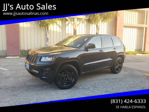 2015 Jeep Grand Cherokee for sale at JJ's Auto Sales in Salinas CA