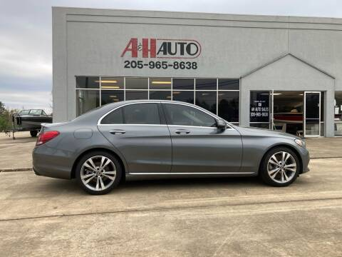 2018 Mercedes-Benz C-Class for sale at A & H Auto Sales in Clanton AL