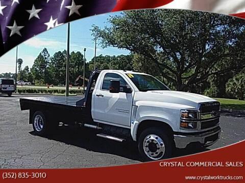 2019 Chevrolet Silverado 4500HD for sale at Crystal Commercial Sales in Homosassa FL