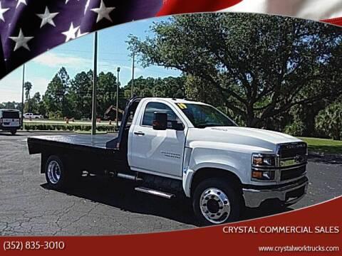 2019 Chevrolet Silverado 4500HD for sale at Crystal Commercial Sales in Homosassa FL