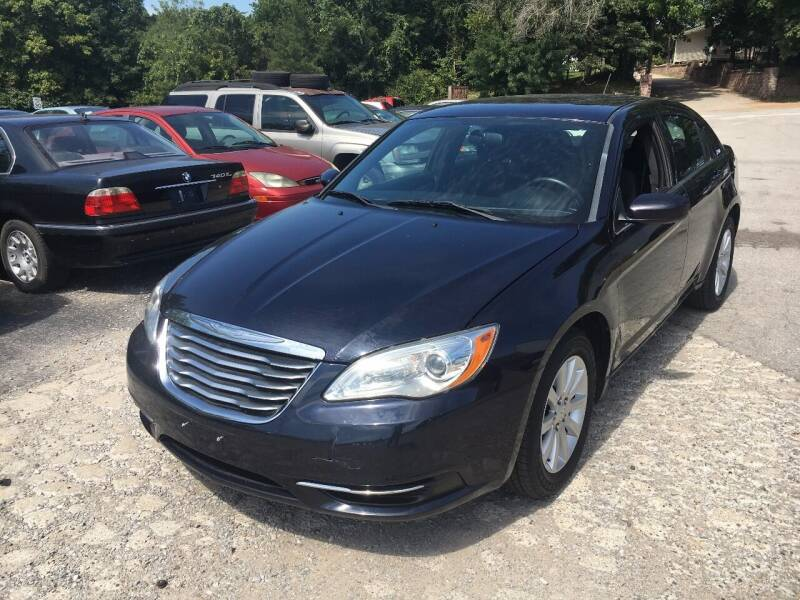 2012 Chrysler 200 for sale at Best Buy Auto Sales in Murphysboro IL