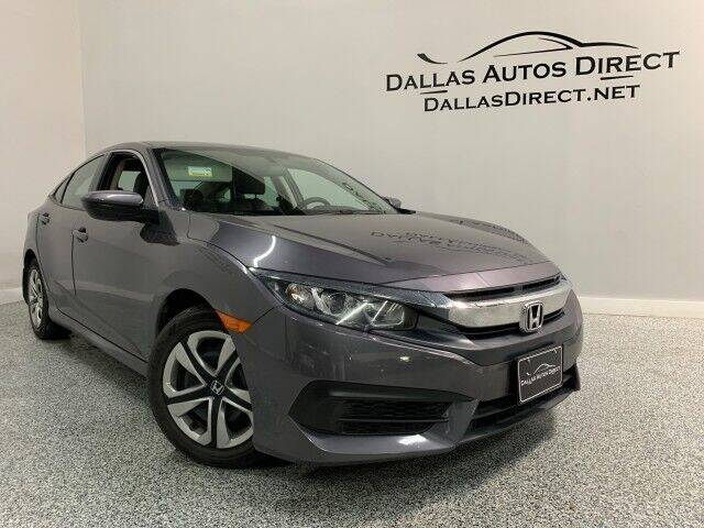 2018 Honda Civic for sale in Carrollton, TX