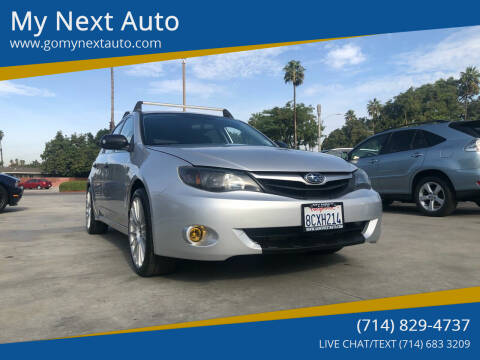 2008 Subaru Impreza for sale at My Next Auto in Anaheim CA