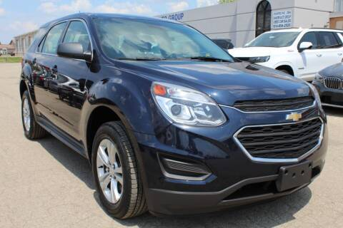 2017 Chevrolet Equinox for sale at SHAFER AUTO GROUP in Columbus OH