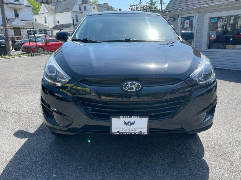 2015 Hyundai Tucson for sale at Concept Auto Group in Yonkers NY