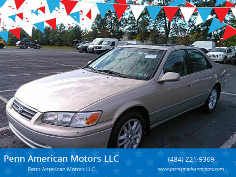2001 Toyota Camry for sale at Penn American Motors LLC in Allentown PA