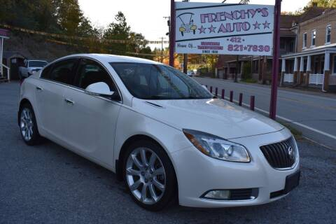 2012 Buick Regal for sale at Frenchy's Auto LLC. in Pittsburgh PA