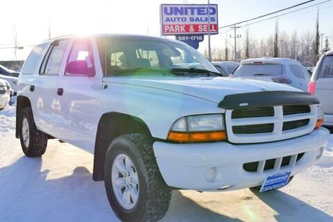 2003 Dodge Durango for sale at United Auto Sales in Anchorage AK