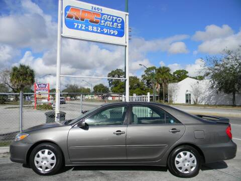2002 Toyota Camry for sale at APC Auto Sales in Fort Pierce FL