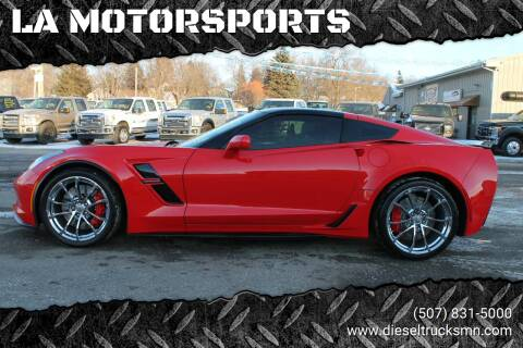 2018 Chevrolet Corvette for sale at LA MOTORSPORTS in Windom MN