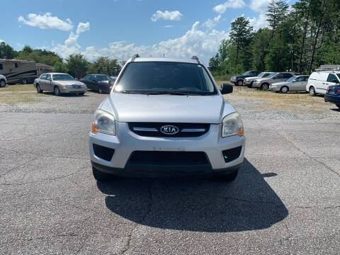 2009 Kia Sportage for sale at Hillside Motors Inc. in Hickory NC