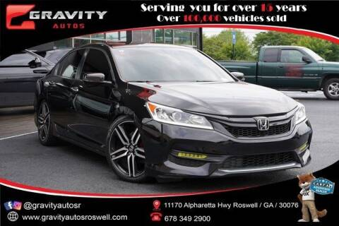 2016 Honda Accord for sale at Gravity Autos Roswell in Roswell GA