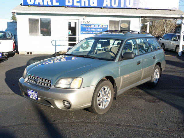 2003 Subaru Outback for sale at Jake Berg Auto Sales in Gladstone OR