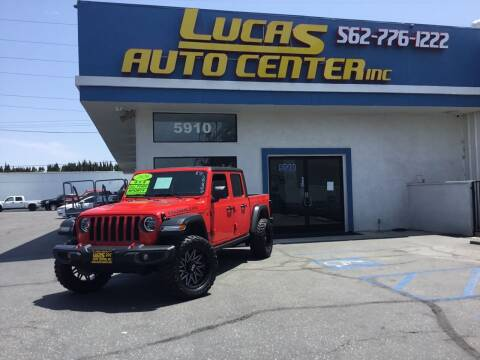 2020 Jeep Gladiator for sale at Lucas Auto Center in South Gate CA