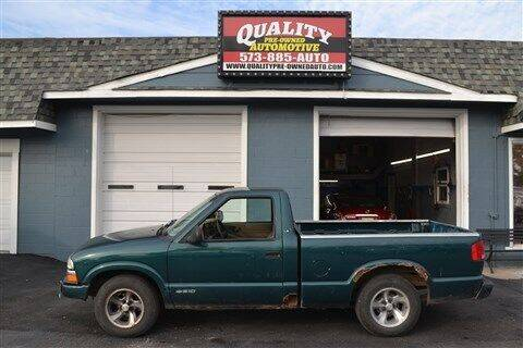 1998 Chevrolet S-10 for sale at Quality Pre-Owned Automotive in Cuba MO