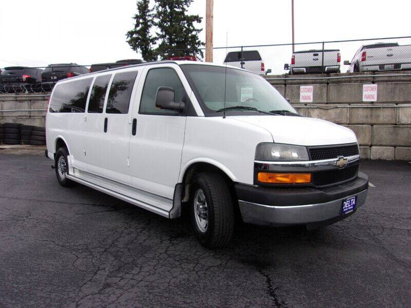 2012 Chevrolet Express Passenger for sale at Delta Auto Sales in Milwaukie OR