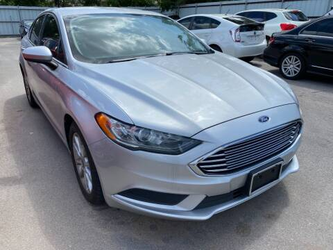 2017 Ford Fusion for sale at Auto Solutions in Warr Acres OK