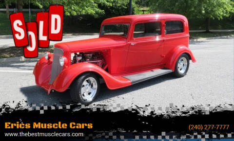 1934 Plymouth Deluxe for sale at Erics Muscle Cars in Clarksburg MD