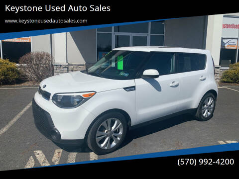2015 Kia Soul for sale at Keystone Used Auto Sales in Brodheadsville PA