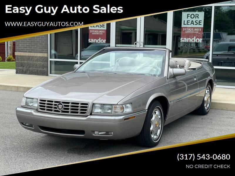 1999 Cadillac Eldorado for sale at Easy Guy Auto Sales in Indianapolis IN