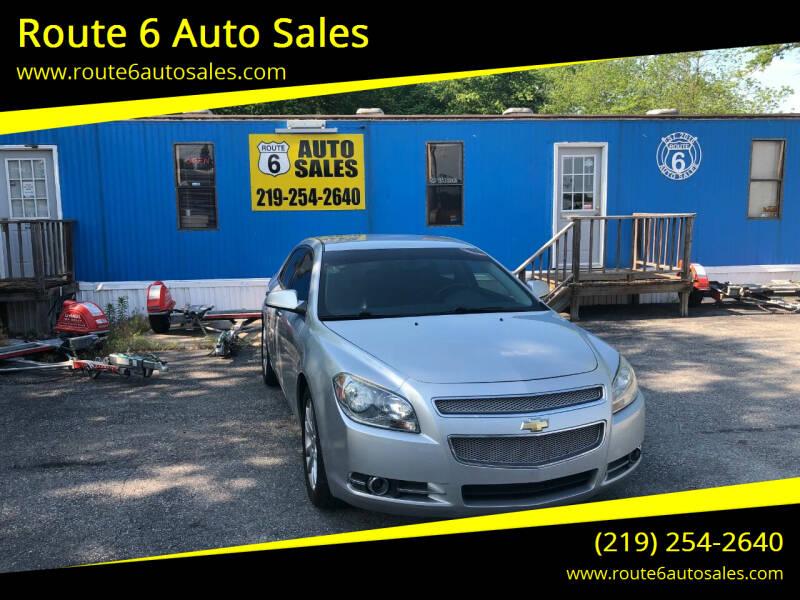 2011 Chevrolet Malibu for sale at Route 6 Auto Sales in Portage IN