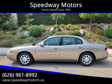 2003 Buick LeSabre for sale at Speedway Motors in Glendora CA