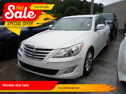 2013 Hyundai Genesis for sale at Cherokee Auto Sales in Acworth GA