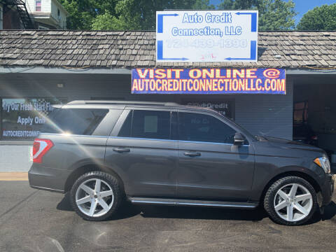2018 Ford Expedition for sale at Auto Credit Connection LLC in Uniontown PA